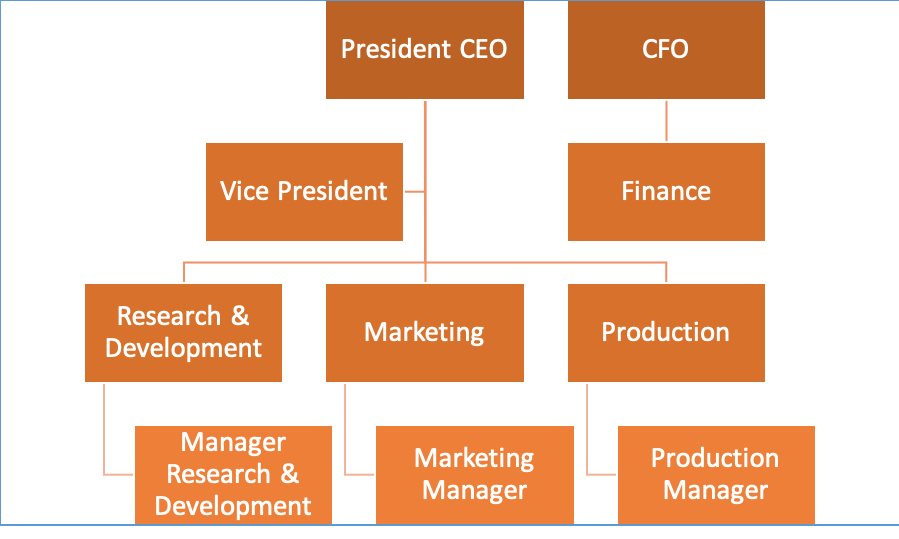 Strategic Management Hierarchy